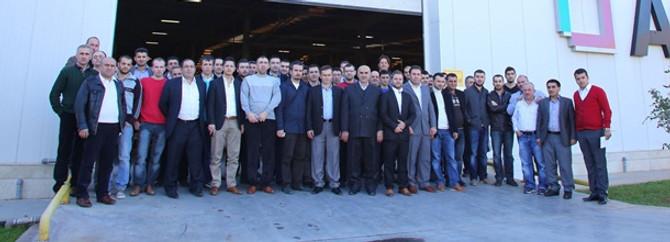 İnegöllü mobilya üreticileri AGT'yi ziyaret etti
