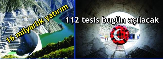 112 tesis bugün açılacak