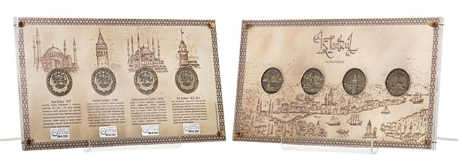 İlk kez İstanbul için para basıldı