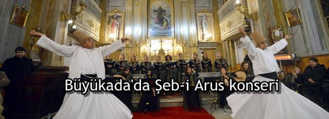 Büyükada'da Şeb-i Arus konseri