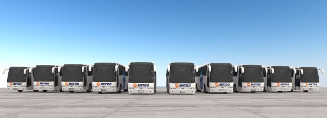Metro, filosuna 30 yeni otobüs ekledi