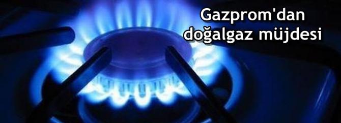 Gazprom doğalgaz fiyatlarını indirecek
