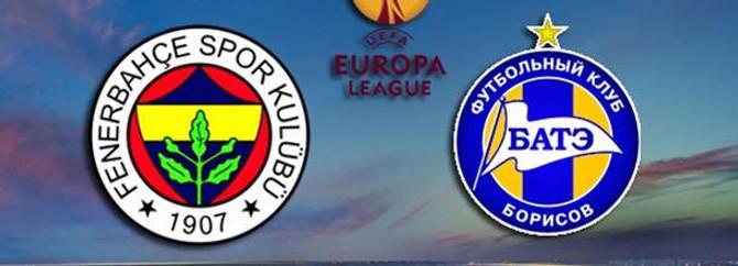 Fenerbahçe Bate Borisov ile eşleşti