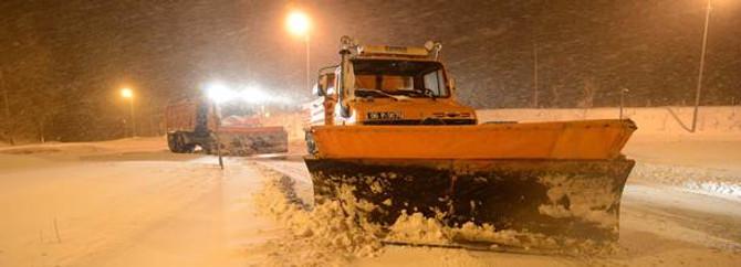 395 köy yolu ulaşıma kapalı