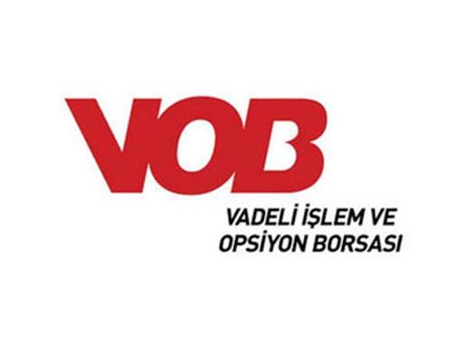 VOB'da endeks kontratı güne yatay başladı