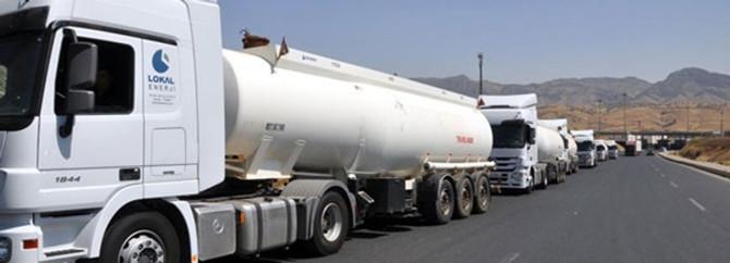 Habur Sınır Kapısı, tanker taşıması için uygun değil