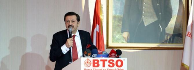 'Dünyada her evde bir Türk ürünü kullanılsın istiyoruz'