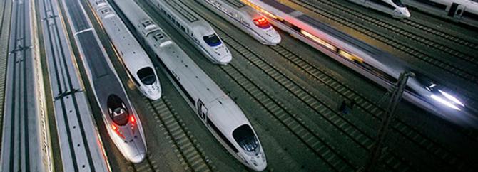 Dünyanın en uzun hızlı tren hattı açıldı