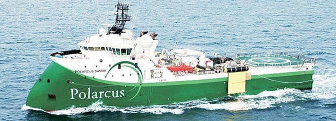 Milli petrol şirketi TPAO gemiyi Norveç'ten alıyor