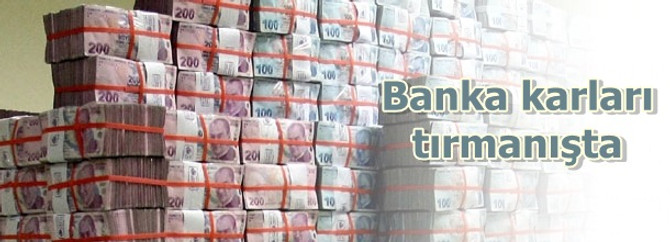 Bankaların karı 2,5 milyar lira yükseldi