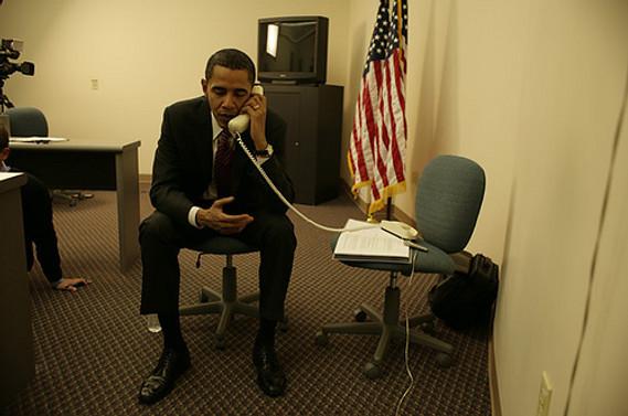 Obama, Abbas ile telefonda görüştü