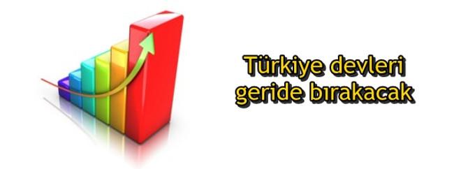 Türkiye devleri geride bırakacak