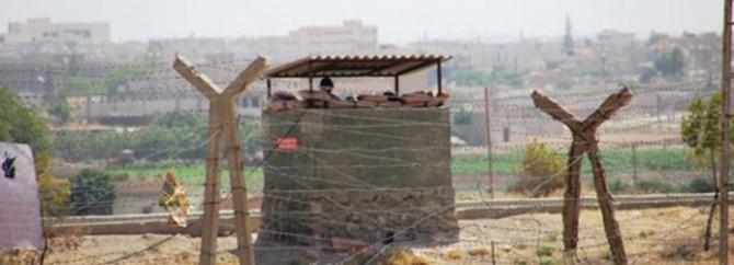 Ürdün sınırında 4 Suriyeli asker tutuklandı