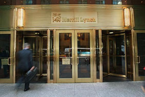 Merrill Lynch'in tercihi banka, otomotiv, gayrimenkul