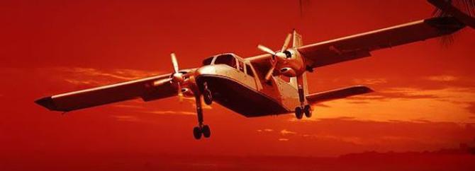 Mersin'de eğitim uçağı düştü