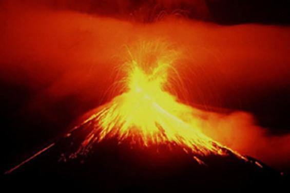 Merapi yanardağı yeniden faaliyete geçti