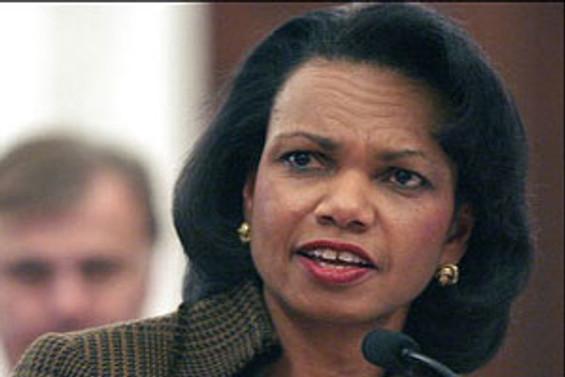 Rice'ın barış için İsrail'de temasları sürüyor