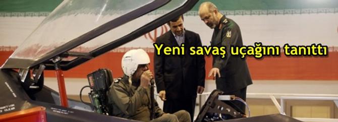 Yeni savaş uçağını tanıttı