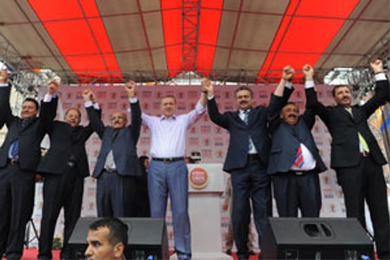 Erdoğan, CHP'ye Kırıkkale'den yüklendi