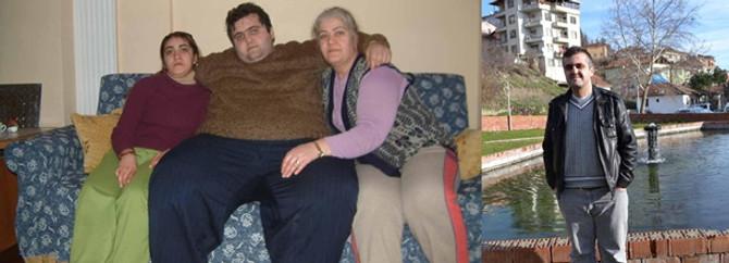 Bir yılda 115 kilo verdi