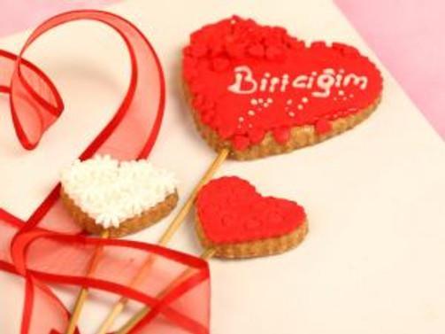 Bu aşk kurabiyeleri çok lezzetli...