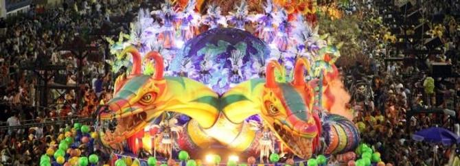 Samba geçitinden renkli kareler