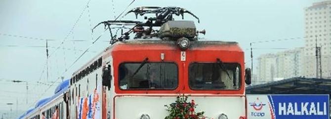 Bu hatta tren trafiğine ara verilecek