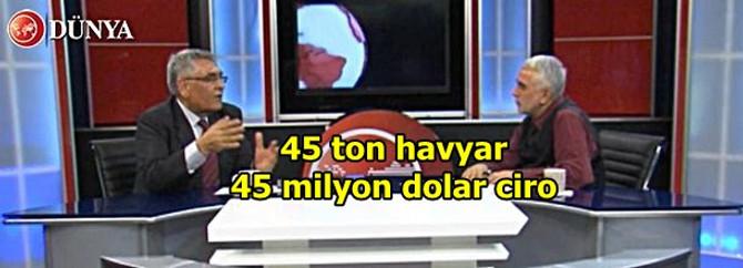 45 Ton hayvar üretimi 45 milyon dolar ciro demek