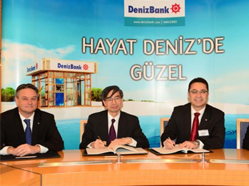 Denizbank-JBIC arasında 200 milyon dolarlık kredi sözleşmesi