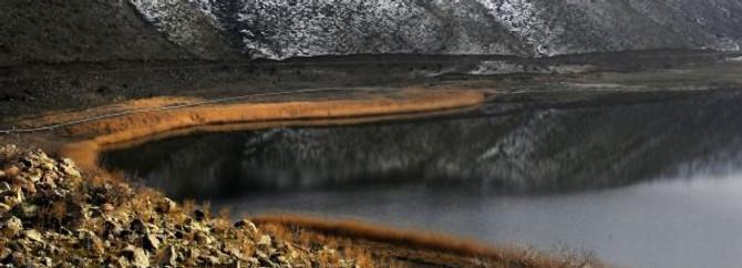 Krater gölü termal turizm merkezi olacak