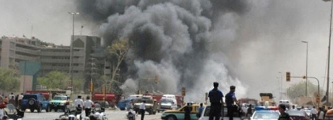 Polis karakoluna saldırı:1 ölü, 5 yaralı
