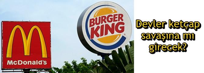 Hamburger devleri ketçap savaşına mı girecek?