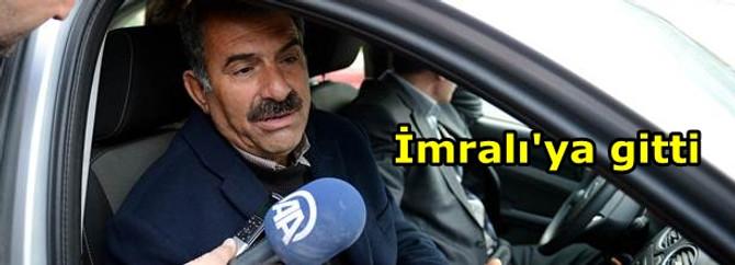 Mehmet Öcalan, İmralı Adası'na gitti