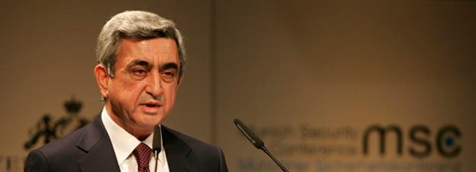 Ermenistan'da ilk sıra yüzde 77 ile Sarkisyan'ın