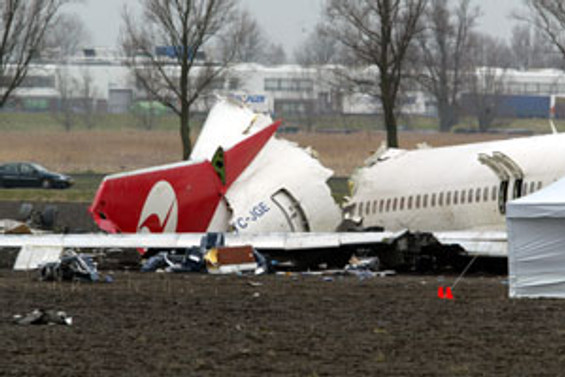 Hollanda: Kazada arızalı irtifa göstergesi rol oynadı