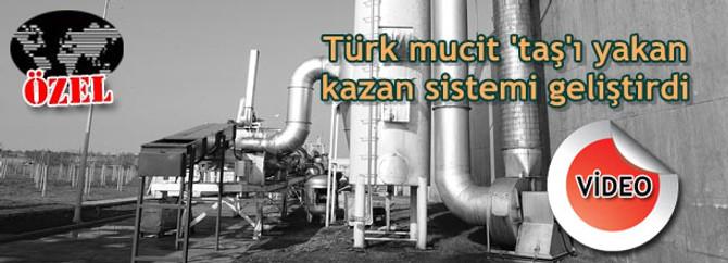 Türk mucit 'taş'ı yakan kazan sistemi geliştirdi