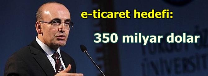 e-ticaret 350 milyar dolara çıkacak