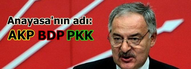 Anayasanın adı: AKP - BDP - PKK
