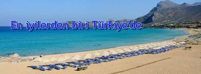 En iyi 10 kumsaldan biri Türkiye'de