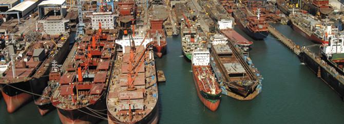 Tuzla tersaneleri 'Europort İstanbul'a hazır