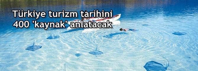 Türkiye turizm tarihini anlatacak 400 'kaynak kişi' belli oldu