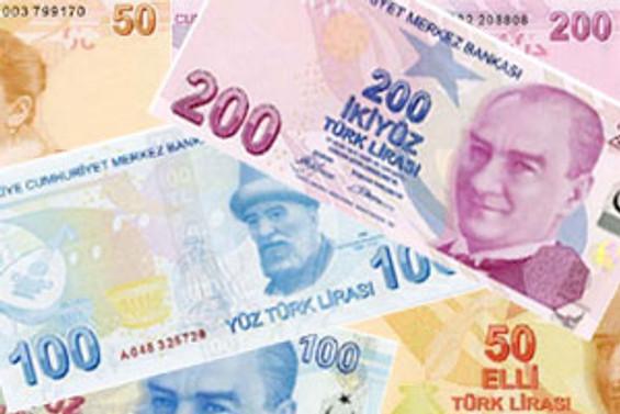 Emisyon hacmi, 348.9 milyon lira azaldı