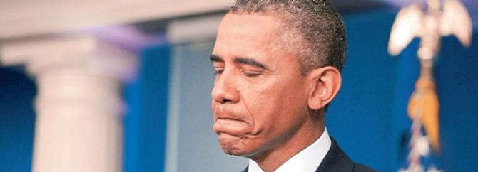 Kum fırtınası Obama'nın programını değiştirdi