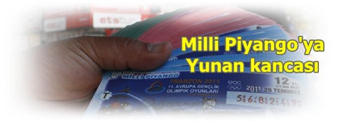 Milli Piyango'ya Yunan kancası