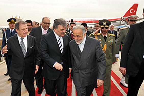 Cumhurbaşkanı Gül İran'da