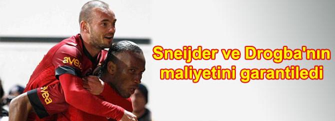 Sneijder ve Drogba'nın maliyetini garantiledi