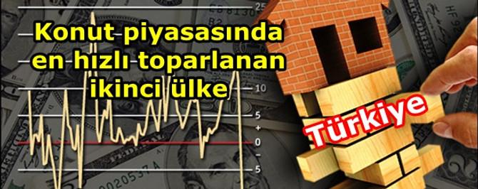 Konut piyasasında en hızlı toparlanan ikinci ülke Türkiye