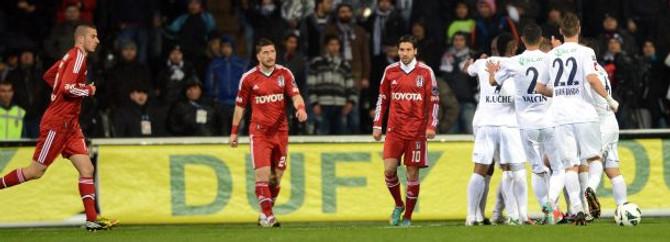 Beşiktaş'ta puan kayıpları sürüyor