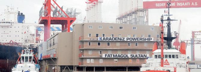 Karadeniz Holding 5 yüzer santral daha yapıyor