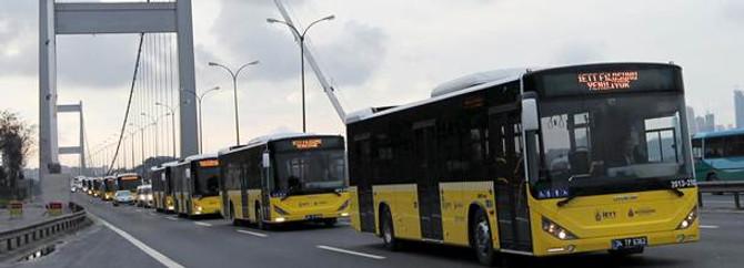 İstanbul'a yeni otobüsler geliyor